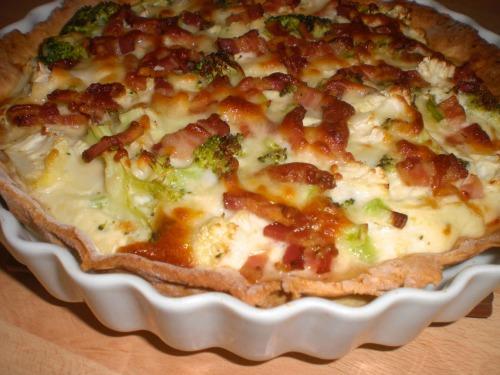 broccolitærte