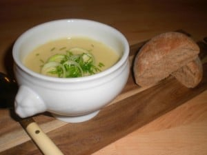 kartoffel porre suppe