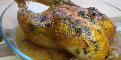 kylling i ovn