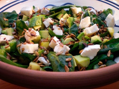Syv skønne salater – en til hver dag i ugen