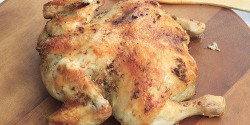 grydestegt kylling