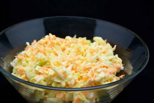 coleslaw opskrift nem