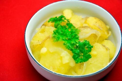 varm kartoffelsalat