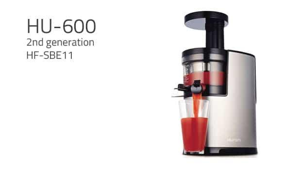 Hurom Slow Juicer 2nd Generation Test : Hurom HF2 Test og anmeldelse af en slow juicer