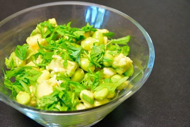 avocado salat opskrift