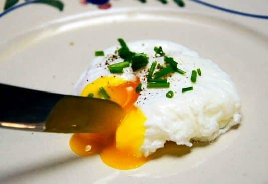 pocheret æg