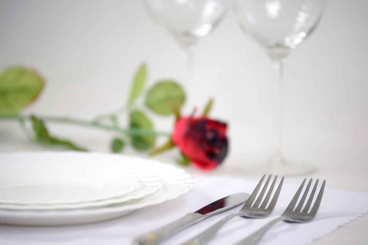En romantisk middag for 2 – Guide