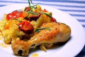Kylling, tomat og estragon – klimavenlig