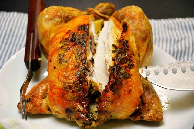 Langtidsstegt kylling