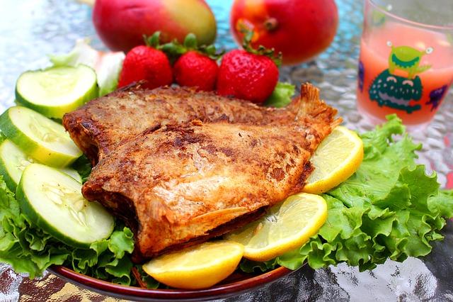 God mad med fisk er godt mod gigten