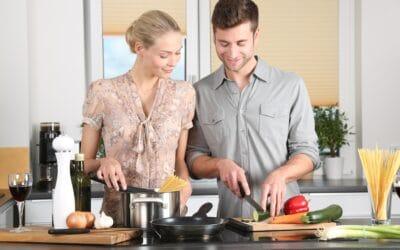 Den rette mad skaber god stemning på daten