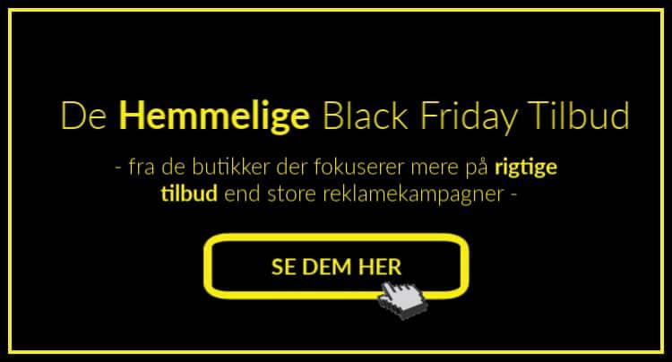 De hemmelige Black Friday tilbud