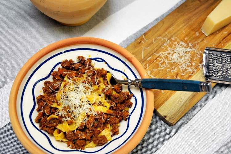 Spaghetti bolognese ret