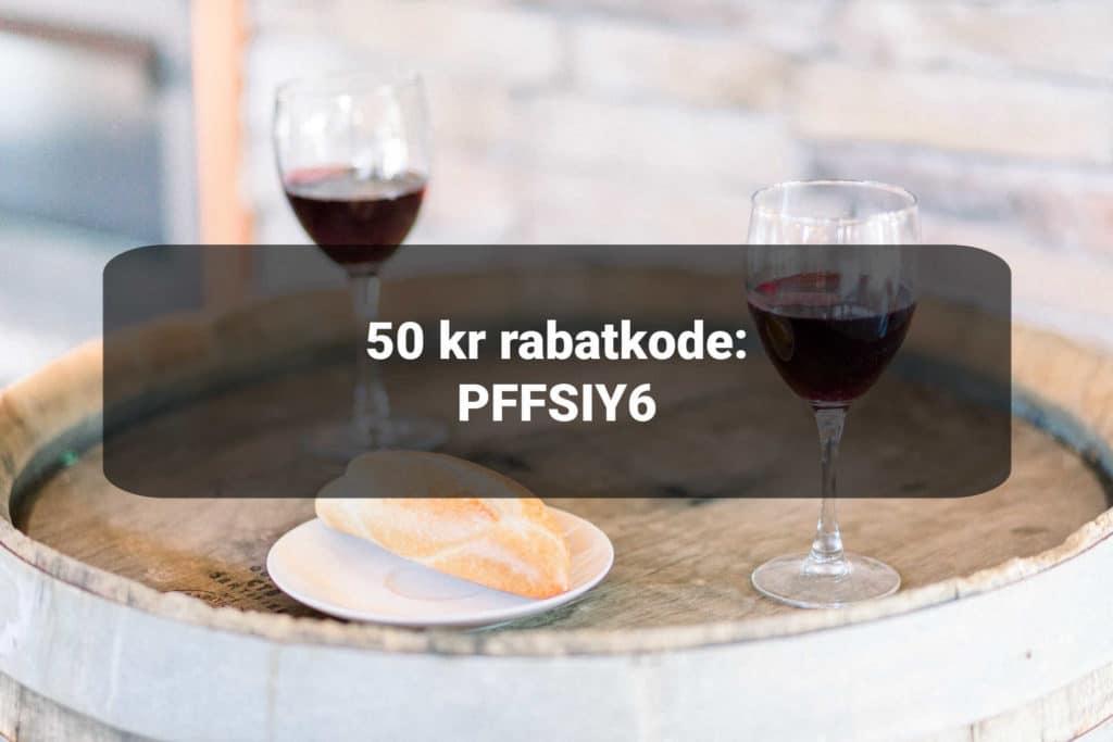 rabatkode til winefamly