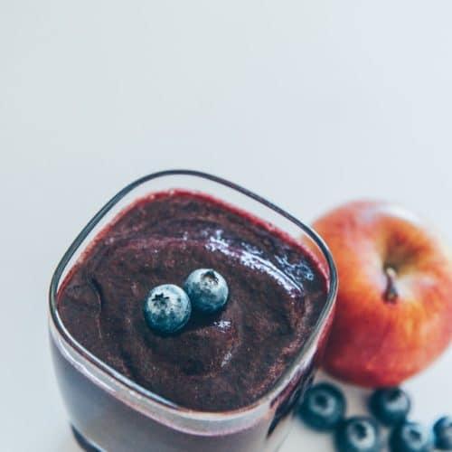 Blåbærs smoothies